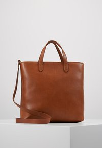 Madewell - THE ZIP TRANSPORT CROSSBODY - Handbag - english saddle - 0
