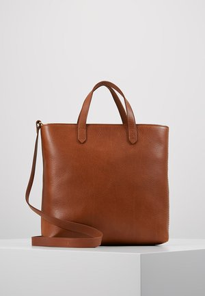 THE ZIP TRANSPORT CROSSBODY - Handbag - english saddle