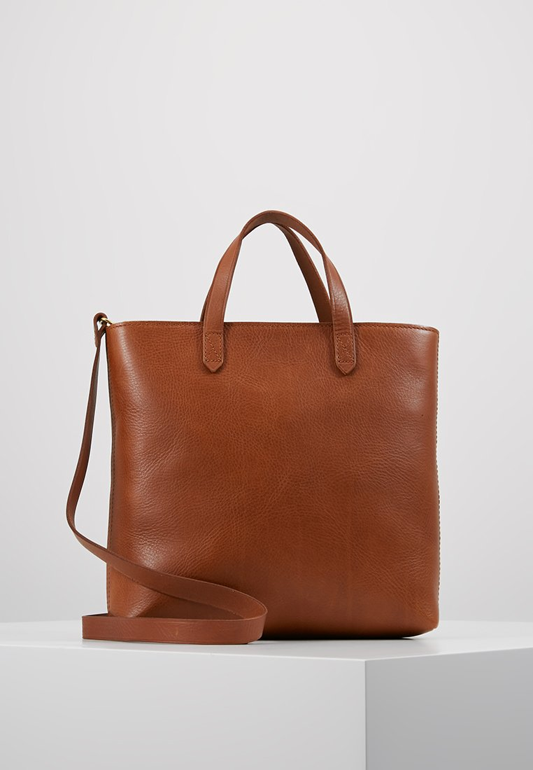 Madewell - THE ZIP TRANSPORT CROSSBODY - Handbag - english saddle