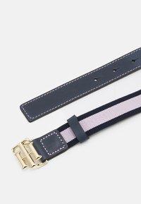 Tommy Hilfiger - LOGO KIDS ELASTIC BELT - Belt - pink - 1