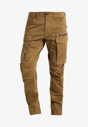 ROVIC ZIP 3D TAPERED - Reisitaskuhousut - beige