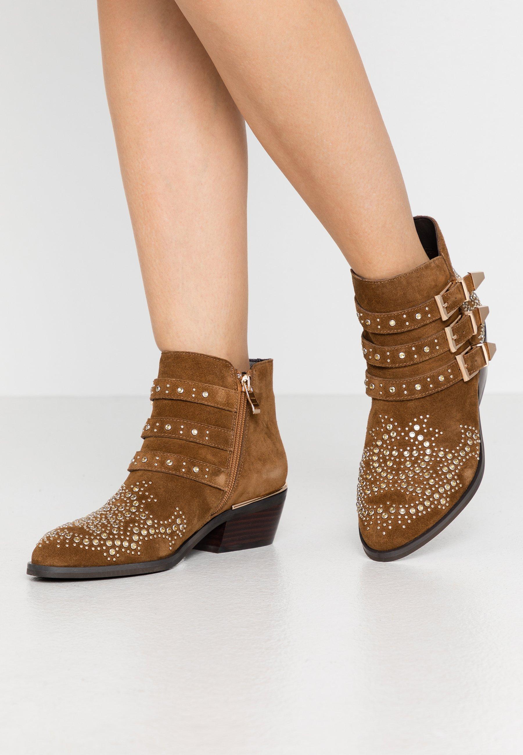 precio Me sorprendió Rebobinar  Alma en Pena Ankle boots - camel - Zalando.de