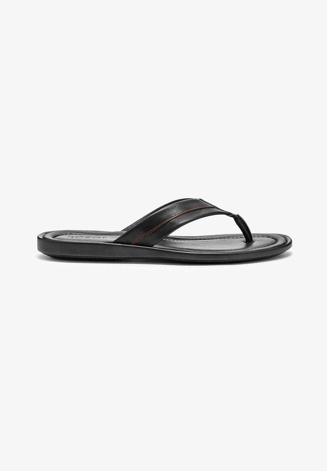HARRY - Sandaler m/ tåsplit - black
