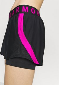 Under Armour - PLAY UP SHORTS - Sports shorts - black - 3