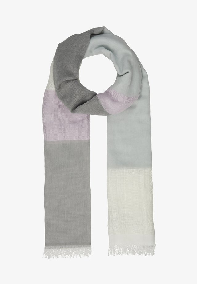 FOULARD STRIPE - Huivi - pearl grey