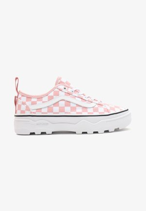 UA SENTRY OLD SKOOL WC - Casual lace-ups - canvas cottoncandy/trwht