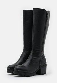 Marco Tozzi - BOOTS - Platåstøvler - black antic - 2