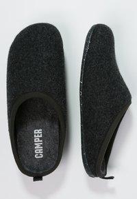 Camper - WABI - Pantuflas - dark gray - 1