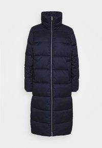 LONG PUFFER COAT - Winter jacket - scandinavian blue