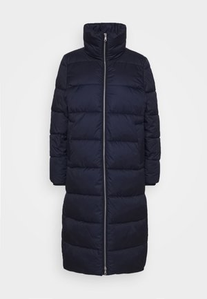 LONG PUFFER COAT - Winter jacket - scandinavian blue