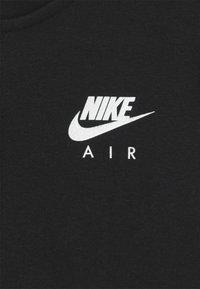 Nike Sportswear - AIR HOODIE - Mikina na zip - black/white - 2