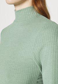 Cotton On - MILA MOCK NECK LONG SLEEVE - Long sleeved top - mountain sage marle - 4