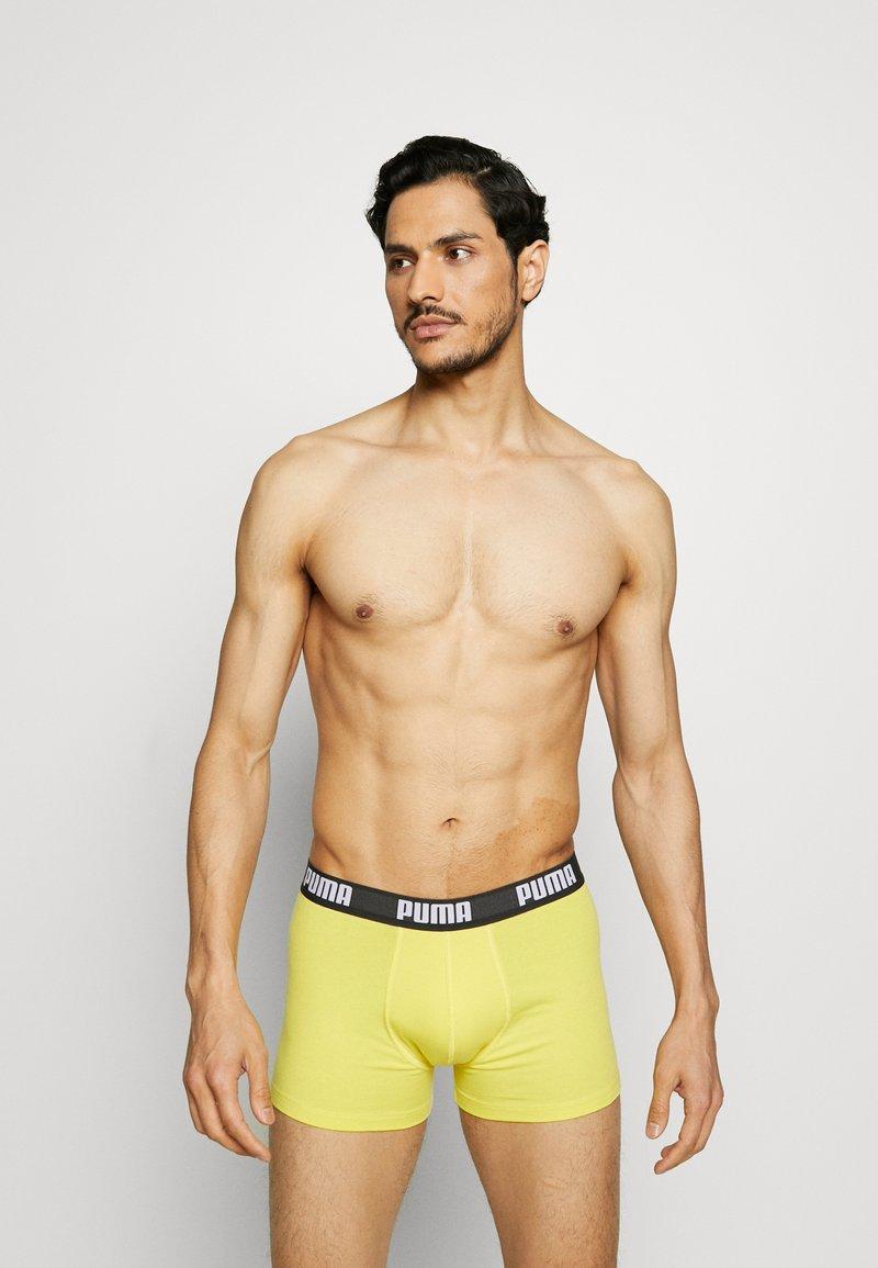 Puma - BASIC 2 PACK - Culotte - yellow/grey melange