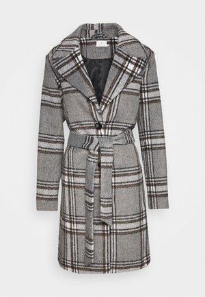 KABARAN COAT - Płaszcz wełniany /Płaszcz klasyczny - grey melange