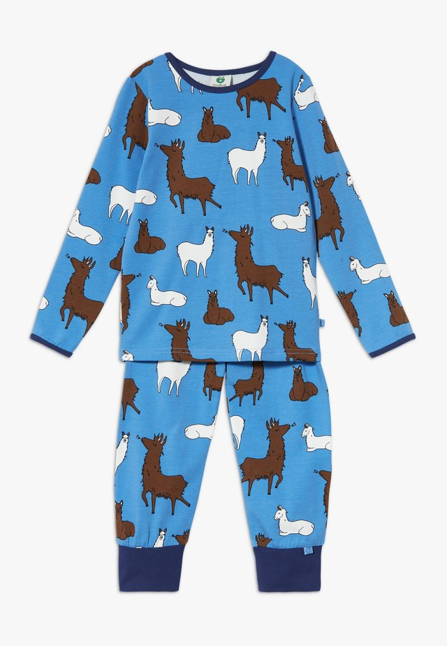 NIGHTWEAR LAMA SET - Pyjama set - winter blue