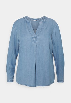 BLOUSE - Bluser - blue denim