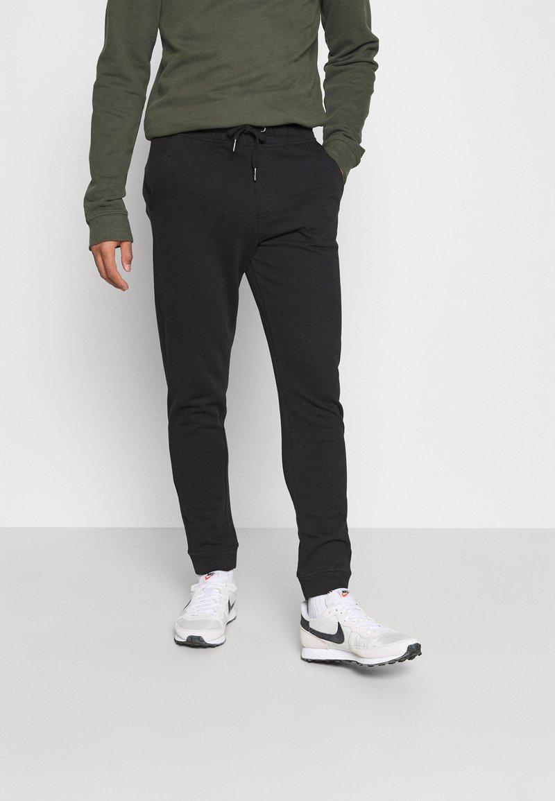 Blend - PANTS - Verryttelyhousut - black