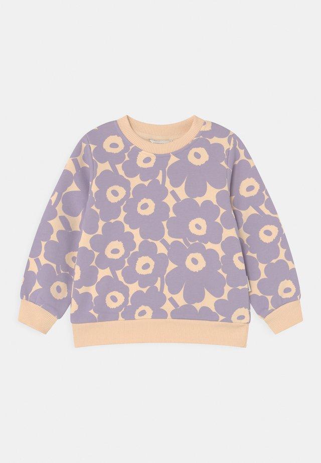 KUULAS MINI UNIKKO - Sweater - light beige/lavender