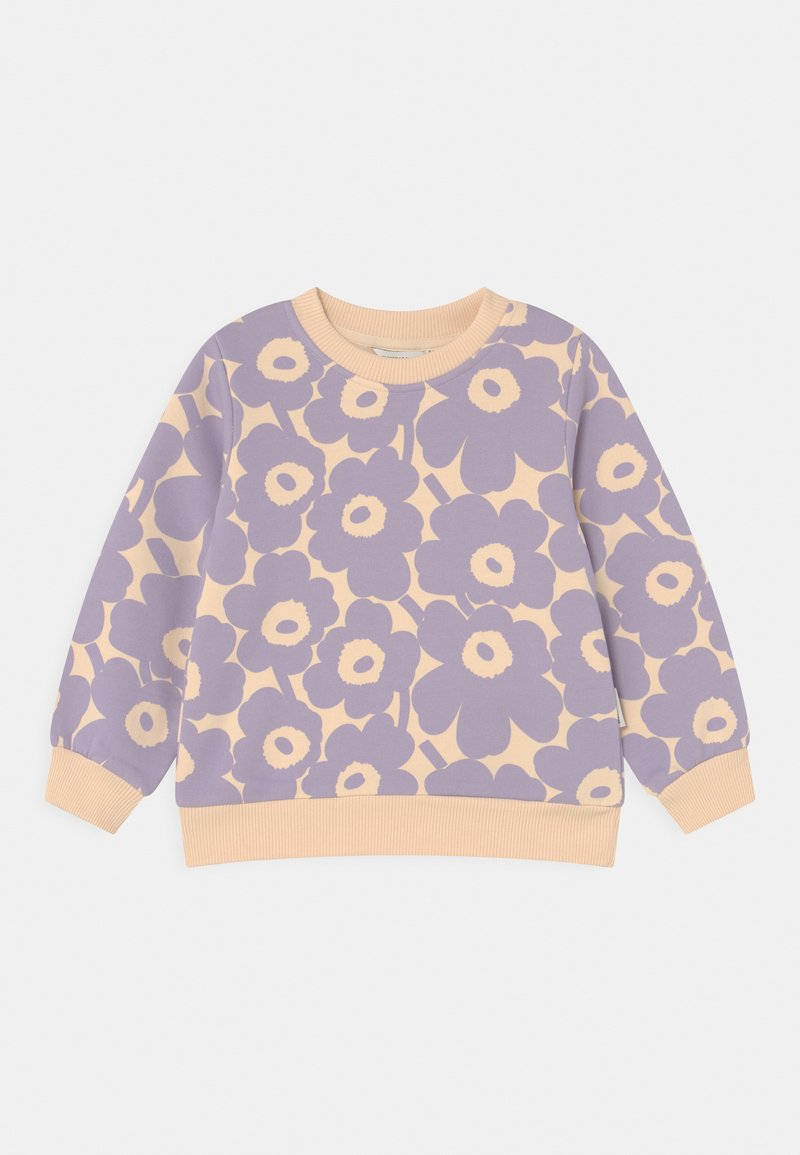 Marimekko - KUULAS MINI UNIKKO - Sweatshirt - light beige/lavender