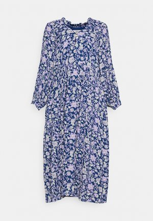 CREPE GEORGETTE - Maxi dress - print blue