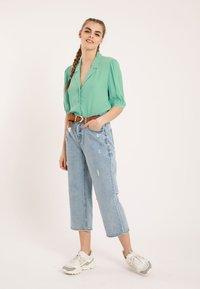Pimkie - Button-down blouse - green - 1