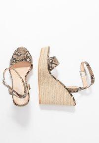 Public Desire - SYDNEY - High heeled sandals - natural - 3