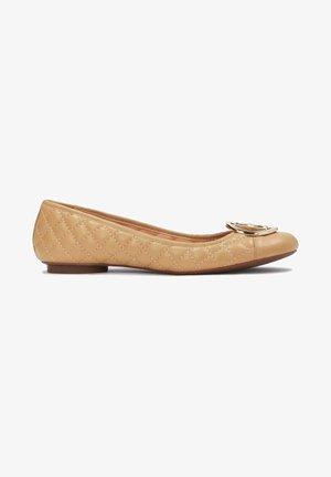 MALIKA - Ballet pumps - light brown