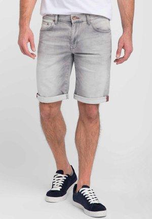 Denim shorts -  silver
