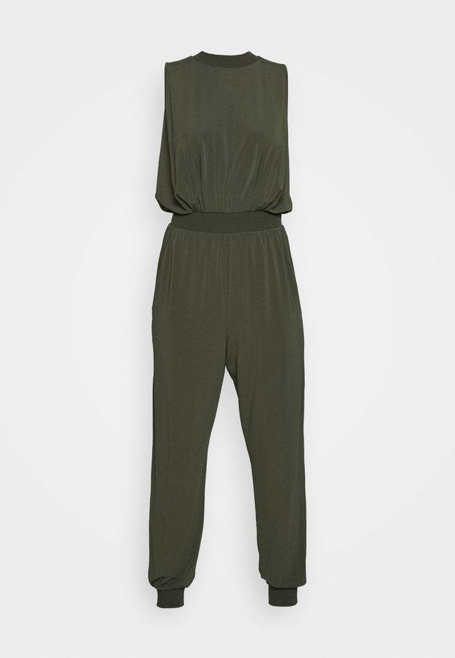 CREARE - Overall / Jumpsuit - khaki green