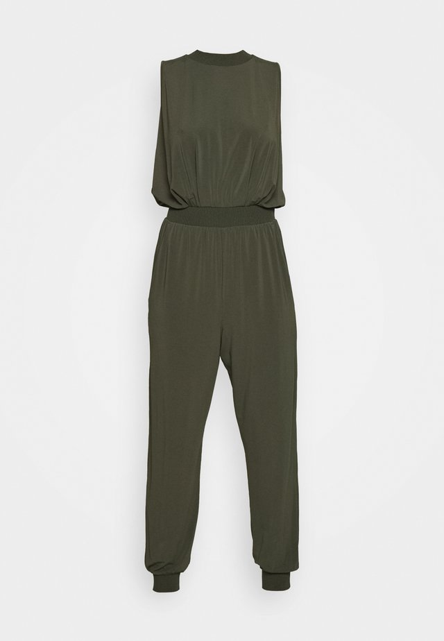 CREARE - Jumpsuit - khaki green