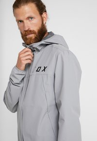 Fox Racing - RANGER WATER JACKET - Waterproof jacket - grey - 3
