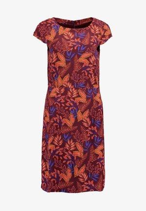 DRESS - Kjole - wine red multicolor