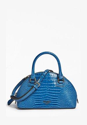 SHILAH IN KROKO-OPTIK - Handbag - blau