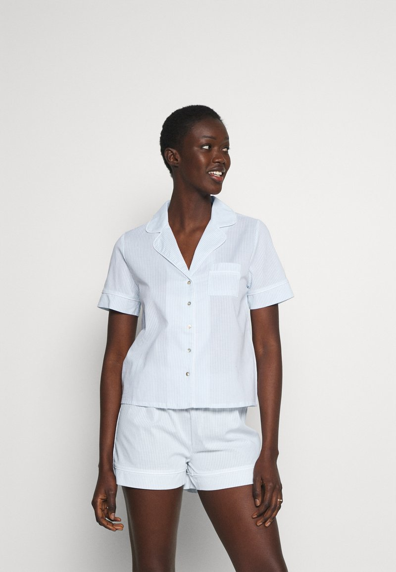 Anna Field - Pyjama set - blue/white