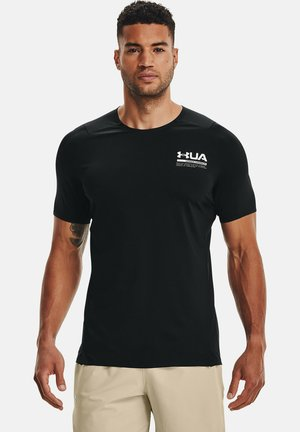 PERFORATED SS - Print T-shirt - black