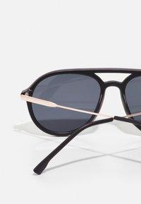 ALDO - GABOUREY - Sunglasses - black/gold-coloured/smoke - 2