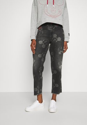 MERY MICKEY - Relaxed fit jeans - denim black