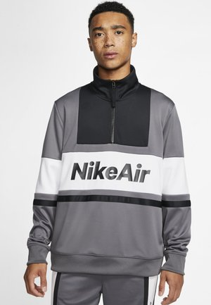 M NSW NIKE AIR JKT PK - Chaqueta fina - dark grey/black/white