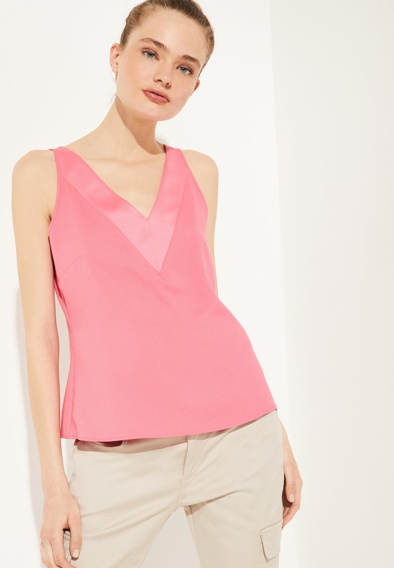 comma - Blouse - pink