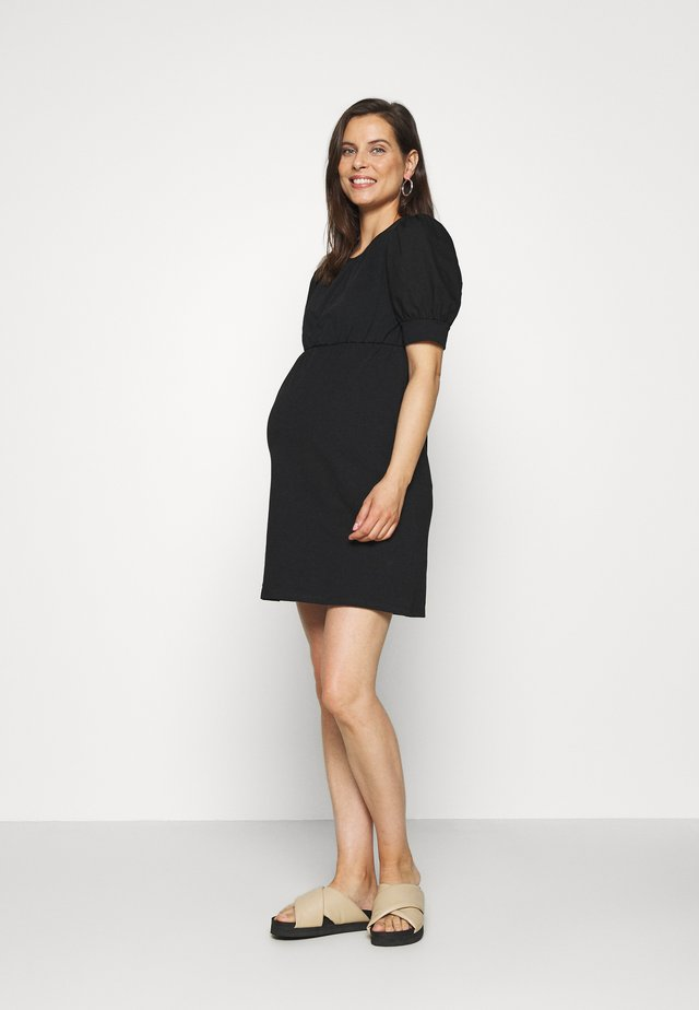 PCMMERVE DRESS - Jersey dress - black