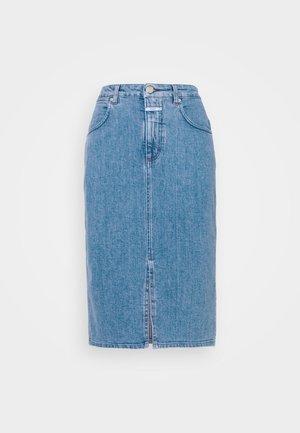 EMMETT - Falda de tubo - blue
