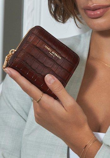 Business card holder - braun