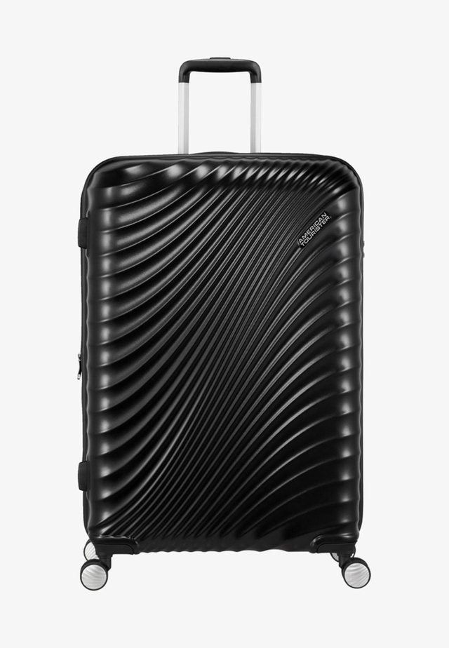 MIT 4 ROLLEN - Wheeled suitcase - metallic black