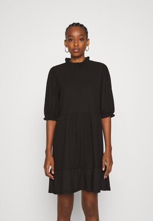 ONLZILLE HIGHNECK DRESS - Shirt dress - black