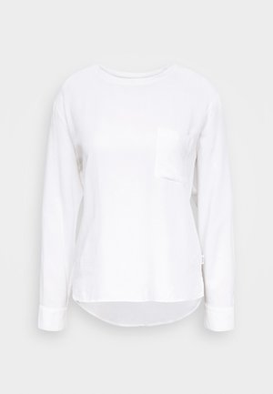 BLOUSE LONGSLEEVE - Blouse - scandinavian white