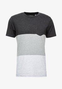 Produkt - PKTAUK ENDLESS TEE - T-shirt z nadrukiem - light grey melange - 3