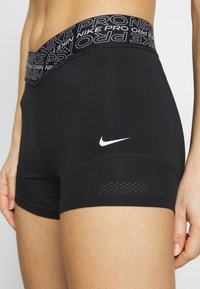 Nike Performance - SHORT - Tights - black/white - 4