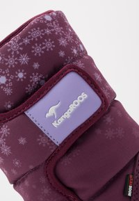 KangaROOS - K-FLUFF RTX - Winter boots - fuchsia/lavender - 2