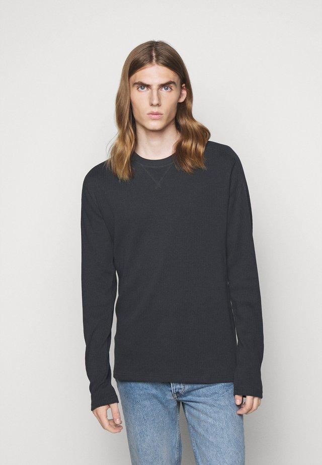 JASPER - Long sleeved top - charcoal