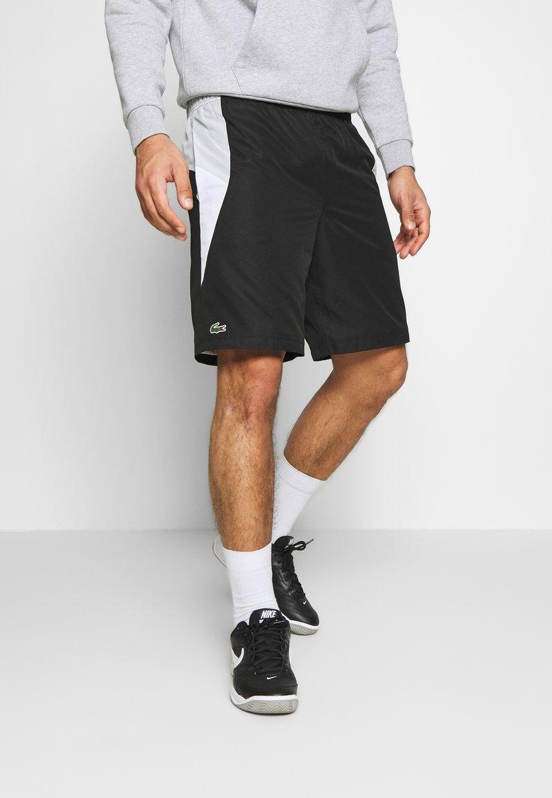 Lacoste Sport - TENNIS - Sportovní kraťasy - black/calluna/white